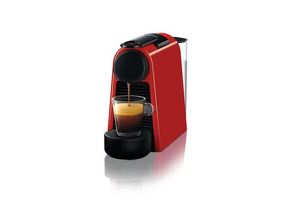 Nespresso D30 Essenza Mini Coffee Maker, Ruby Red