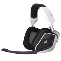 Corsair Void Pro RGB Wireless Premium Gaming Headset with Dolby,  White
