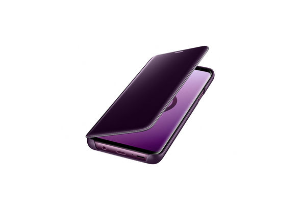 Samsung Galaxy S9+ Clear View Stand Cover, Violet