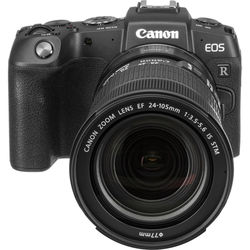 Canon EOS RP Mirrorless Digital Camera with EF 24-105mm f/3.5-5.6 STM Lens and Mount Adapter