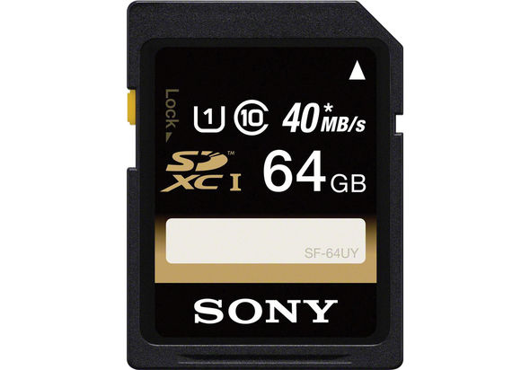 Sony SF64UY 64GB Memory Card Class 10