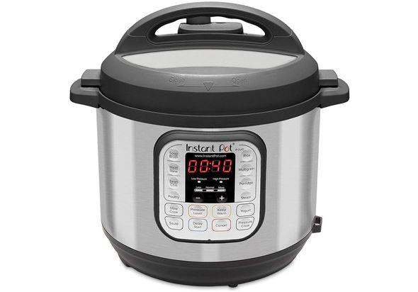 Instant Pot Instant Multi-Use O80 7-in-1 Pressure Cooker 7.6L (8L) , Black / Chrome