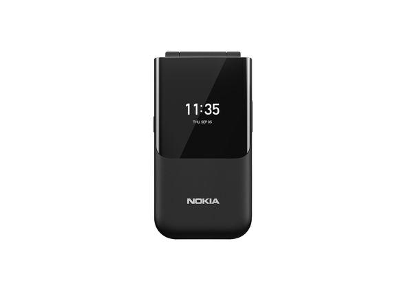 Nokia 2720 Flip Smartphone LTE,  Black