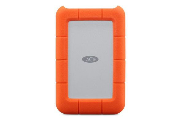 LaCie 4TB Rugged Mini USB-C Portable Drive