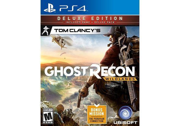 Tom Clancy s Ghost Recon Wildland Deluxe Edition for PS4