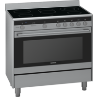 Siemens HY738357M Electric Cooker, 90 cm
