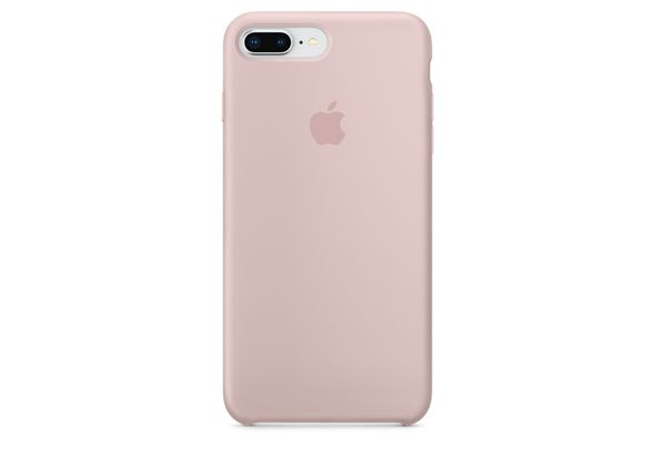 Apple iPhone 8 Plus / 7 Plus Silicone Case, Pink Sand