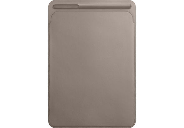 Apple Leather Sleeve for 10.5  iPad Pro, Taupe