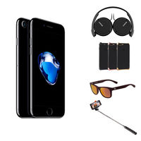 Apple iPhone 7, 128GB Smartphone LTE, Jet Black