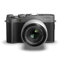Fujifilm X-A7 Mirrorless Digital Camera with 15-45mm Lens,  Dark Silver