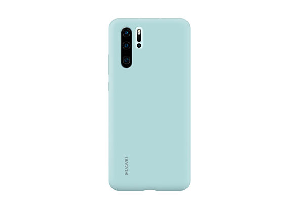 Huawei P30 Pro Silicone Case,  Light Blue
