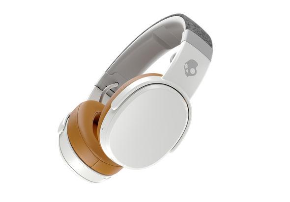 Skullcandy Crusher Wireless Over-the-Ear Headphones, Gray/Tan