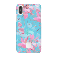 Happy Plugs Protective Case for iPhone X, Botanica Exotica