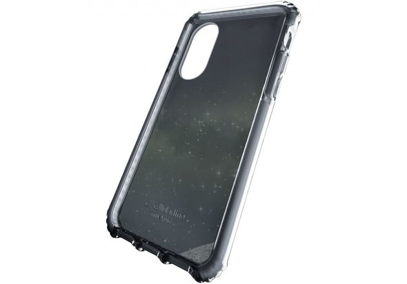 Cellularline Tetraforce Shock Twist Case for iPhone X, Black