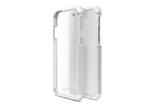 iLuv Vyneer Case for iPhone 6/6s, White