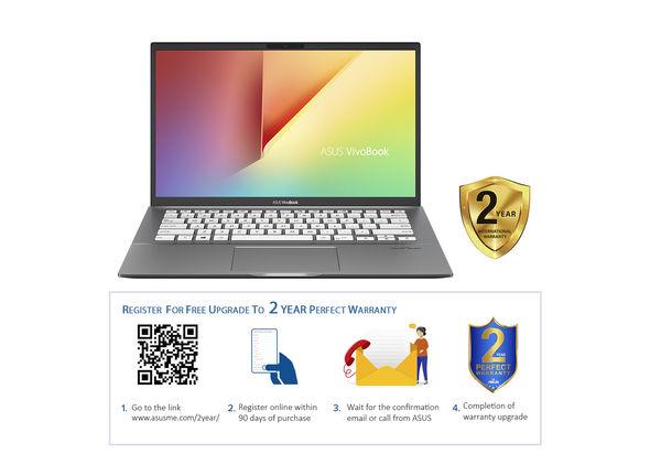 Asus VivoBook S14 S431FL i7 16GB, 512GB 2GB Graphic 14  Laptop, Gun Metal