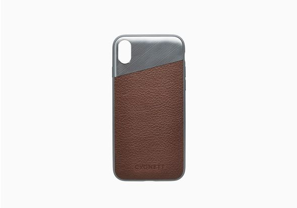 Cygnett Element Leather Case iPhone X, Brown