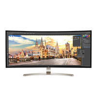 "LG 38"" 38UC99 Class 21: 9 UltraWide WQHD+ IPS Curved LED Monitor"