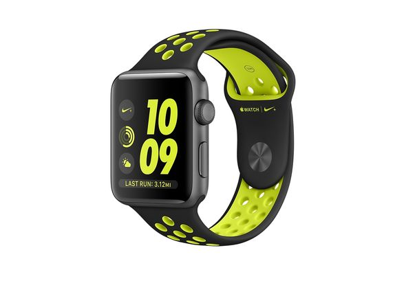 Apple Watch Nike+ Space Gray Aluminum Case with Black/Volt Nike Sport Band