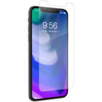 Zagg iPhone X Invisible Shield Glass Plus Contour Screen Protector