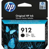HP 912 Ink Cartridge,  Black