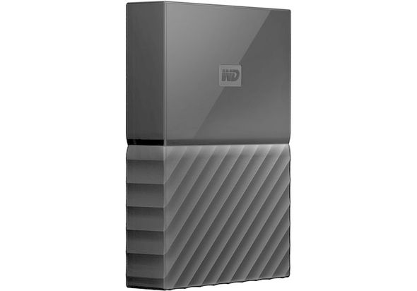 WD 4TB My Passport USB 3.0 Secure Portable Hard Drive, Black