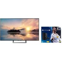 "Sony 49"" KDL49X7000E 4K Ultra HD HDR Smart TV with Sony PS4 Bundle"