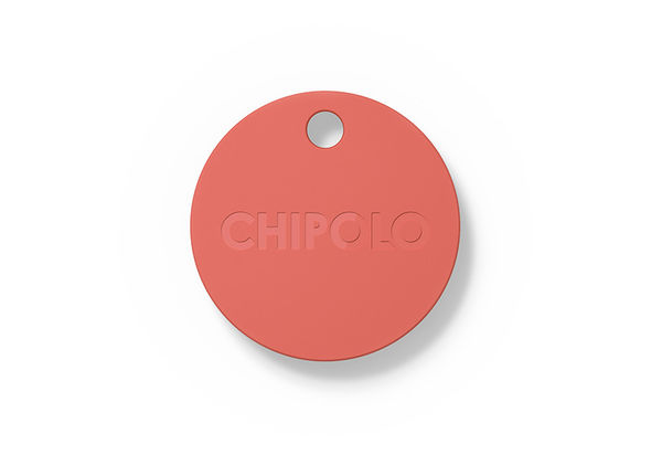 Chipolo bluetooth item tracker, Coral Red