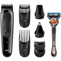 Braun Multi Grooming Kit MGK3060 8 in one Precision Face and Head Trimming Kit