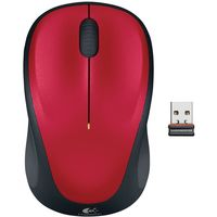 Logitech M235 Wireless Mouse, Red