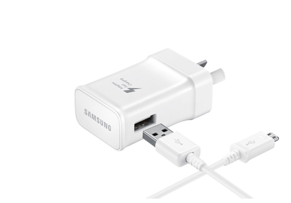 Samsung 15W Travel Adapter with USB Type-C Fast Charger, White