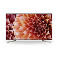 "Sony 55"" KD55X9000F 4k Android Smart TV"