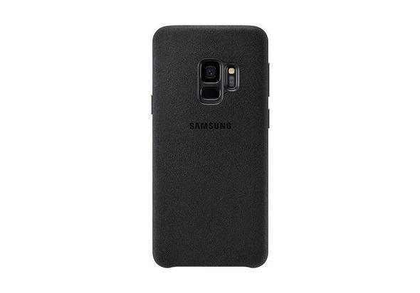 Samsung Galaxy S9 Alcantara Cover, Black