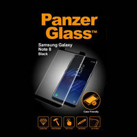 Panzerglass PNZ7133 Samsung Galaxy Note8 Case Friendly, Black