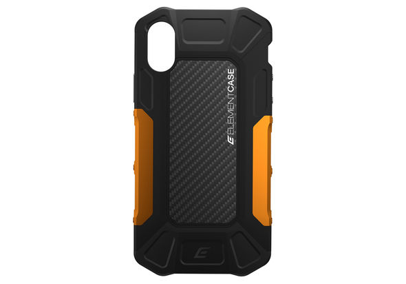 Element Case iPhone X Formula, Black / Orange