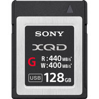 سوني , XQD G SERIES ,بطاقة ذاكرة سعة 128 جيجا بايت