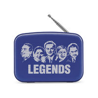 Saregama Carvaan Mini Legends Music Player,  Regal Blue