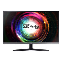 Samsung LU32J590 32 inches UHD 4k QLED Monitor