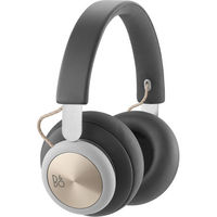 B&O PLAY by Bang & Olufsen Beoplay H4 Bluetooth Wireless Over-Ear Headphones, Charcoal Gray