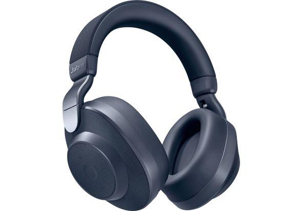 Jabra Elite 85h Wireless Noise Canceling Over the Ear Headphones,  Navy