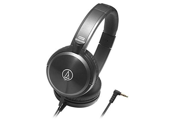 Audio Technica ATH-WS77 Solid Bass Over-Ear Headphones