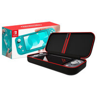 Nintendo Switch Lite Turquoise+ Travel Case Bundle