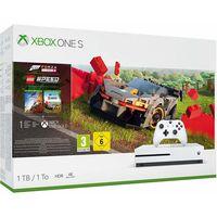 Microsoft Xbox One S 1TB Console with Forza Horizon 4 Lego