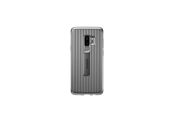 Samsung Galaxy S9+ Protective Stand Cover, Silver