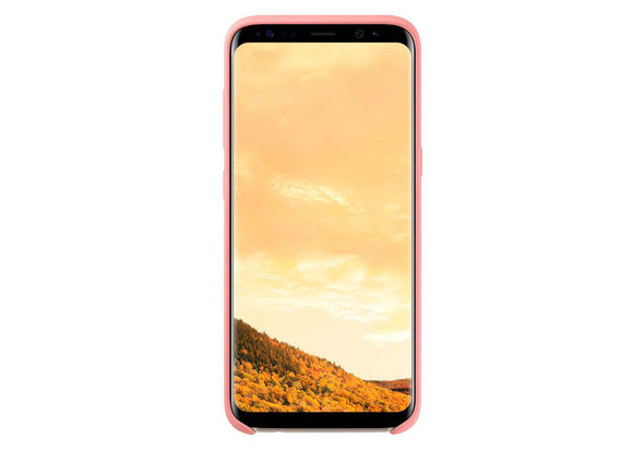 Samsung Galaxy S8 Silicone Cover, Pink