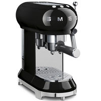 Smeg ECF01BLUK Espresso Coffee Machine, Black