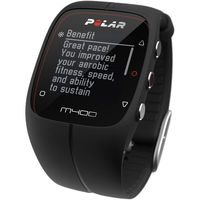 Polar M400 GPS running watch, Black