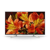 Sony 49 inches KDL49X8500F 4K Ultra HD Smart TV