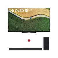 """LG 55"""" B9 OLED 4K TV with LG SL6Y 3.1 Channel Sound Bar"""