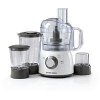 Black & Decker FX400BMG-B5 Food Processor With Blender, Mincer&Grinder 400W